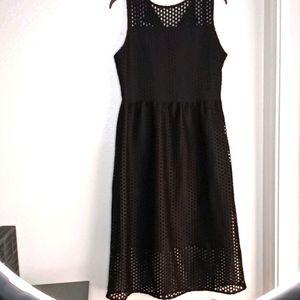 NWT H&M size 12 black maxi dress
